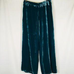 Trina Turk velvet Wide Leg Palazzo pants  12